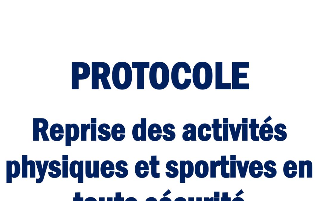 COVID-19 : PROTOCOLE