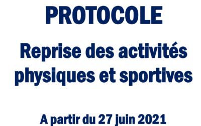 COVID-19 : Nouveaux protocoles